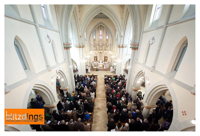 Von der Orgelempore (Bild: M.Paech)