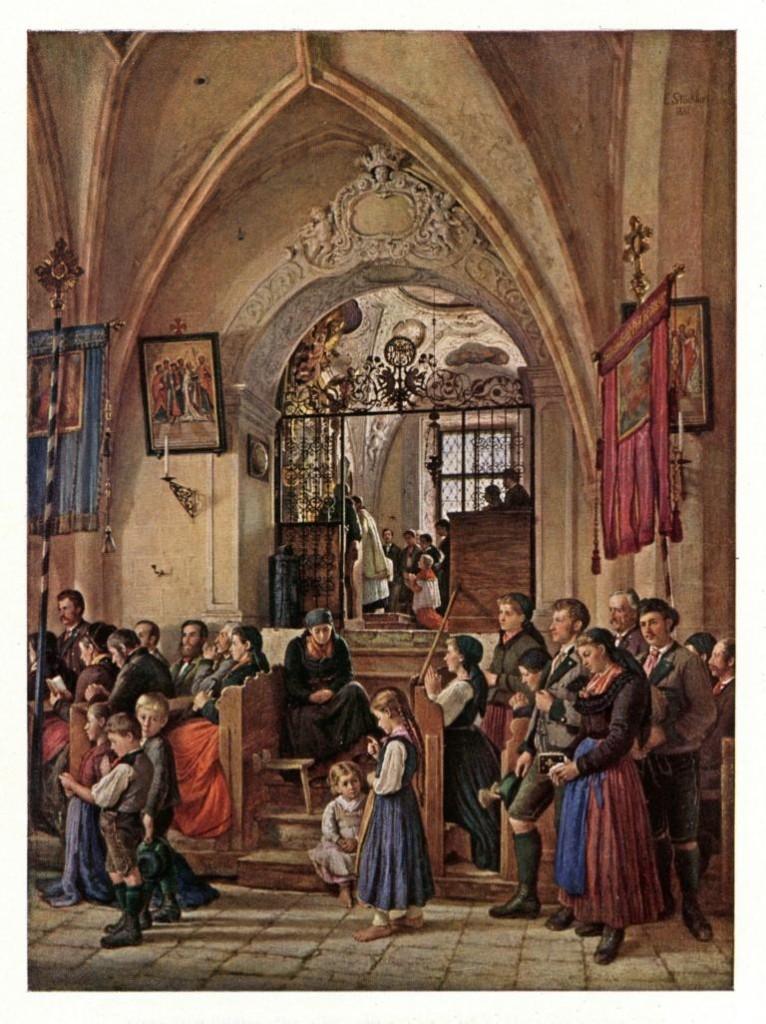 Emanuel Stöckler – Marienkapelle in der Kirche von Aussee, 1882 (Bild: Wikimedia Commons, Hubertl)