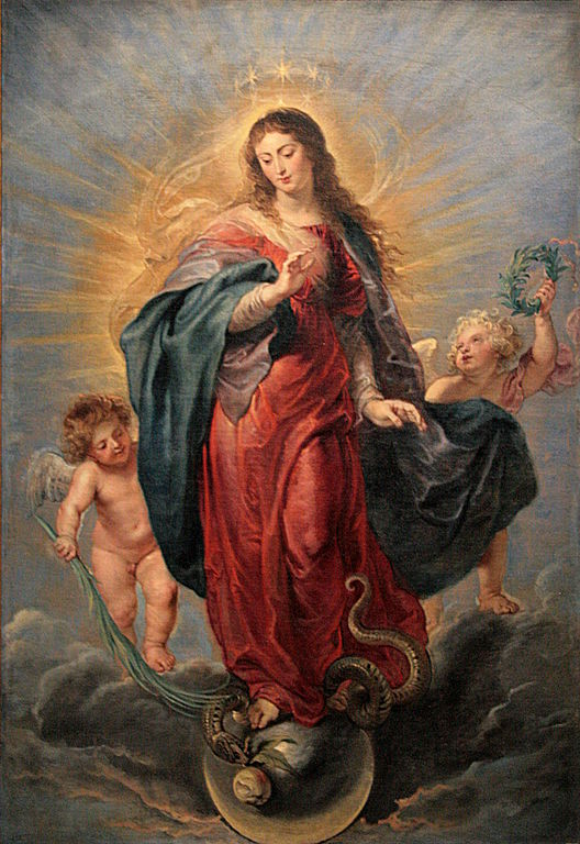 P.P. Rubens, Immaculata, um 1630, Prado (Bild: Wikimedia Commons, Jean-Pol GRANDMONT)
