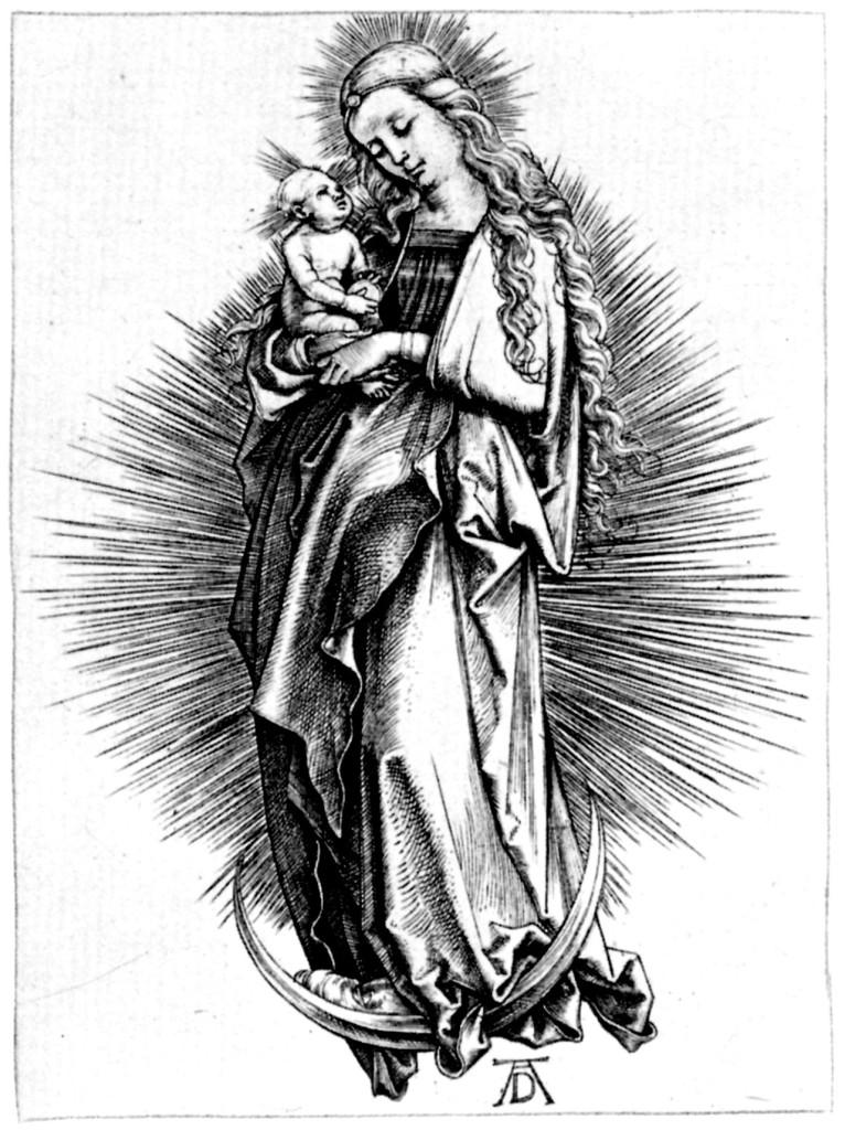 Dürer Mondsichelmadonna