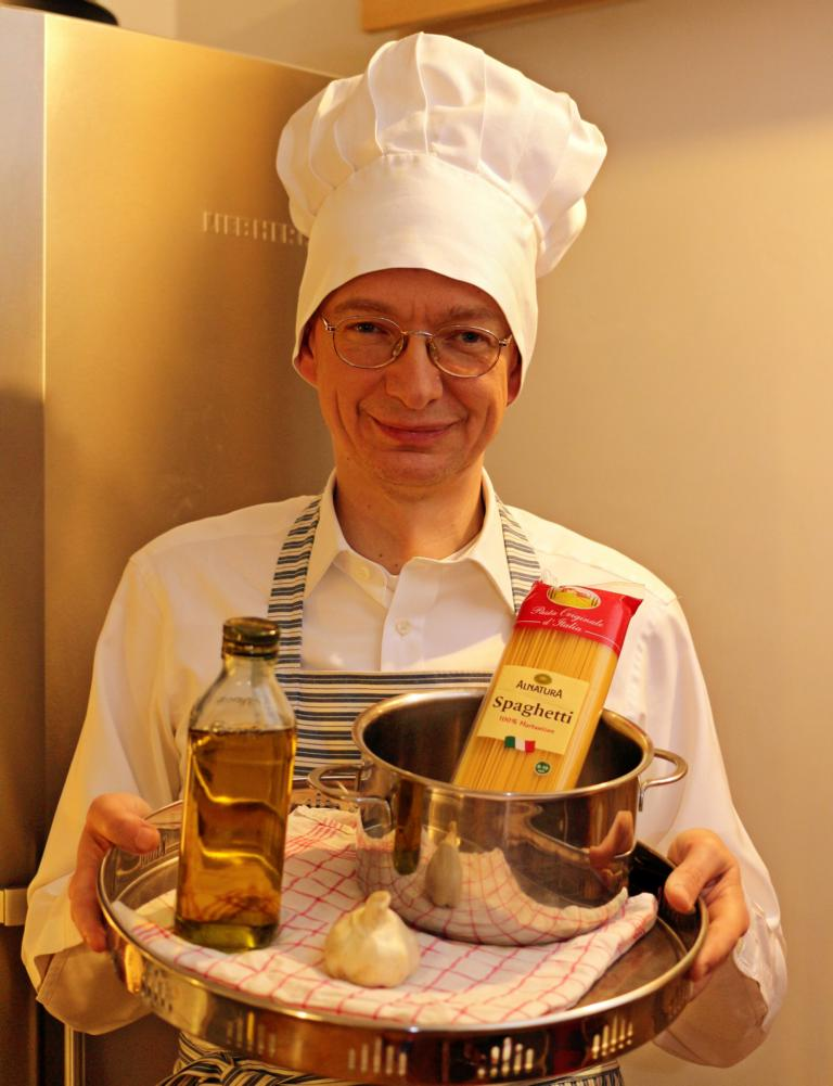"""Spaghetti Allioli"" (eigenes Bild)"