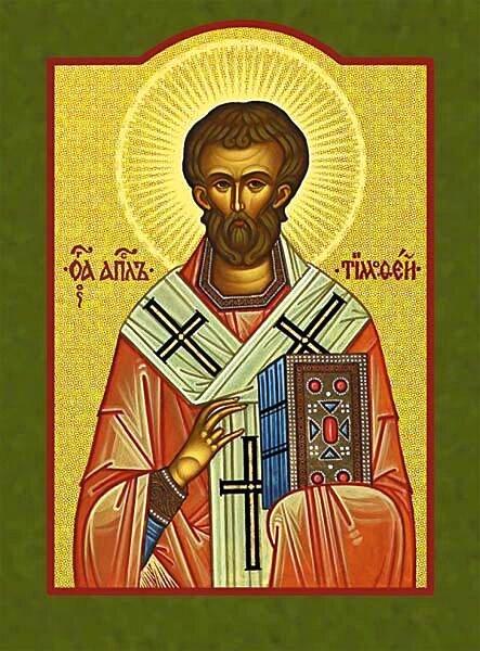 Hl. Timotheus, Ikone (Bild: Wikicommons)