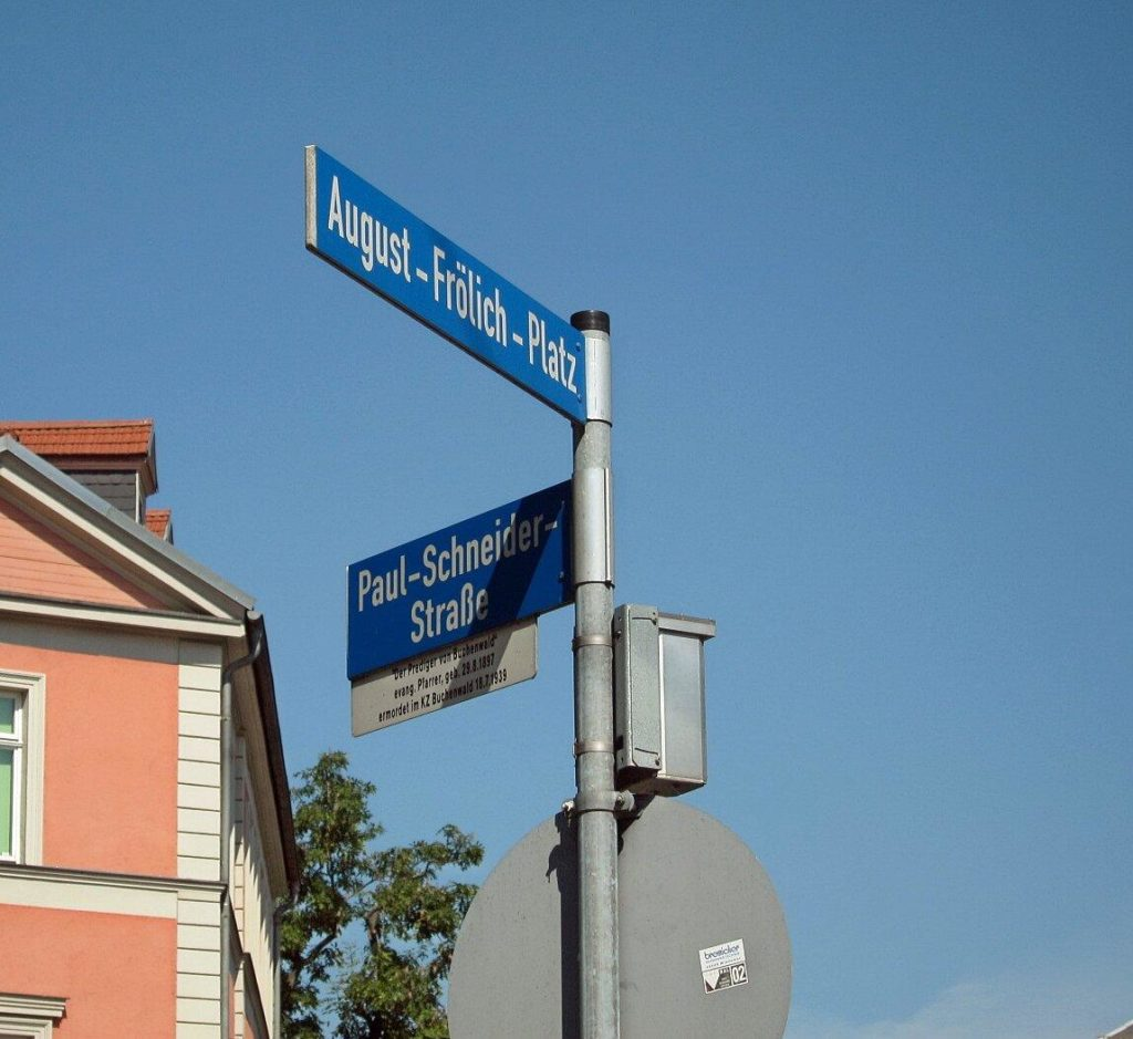 Straßennamen (eigenes Bild)
