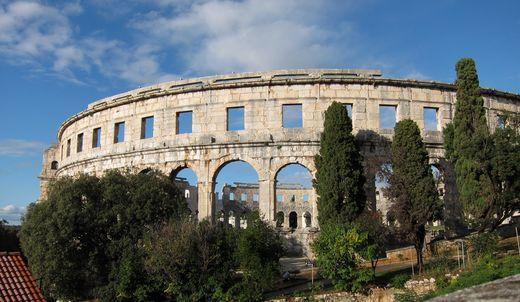 Ein römisches Theater (eigenes Bild)